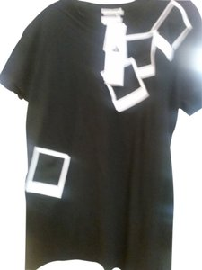Each x Other T Shirt black with white