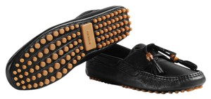 Gucci Loafers Driving Mocasines Nappa Leather Men black Athletic