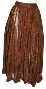 Touche Maxi Skirt Brown