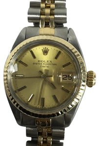 Rolex Rolex Oyster Perpetual Date Automatic 18k Stainless Steel Ladies Watch