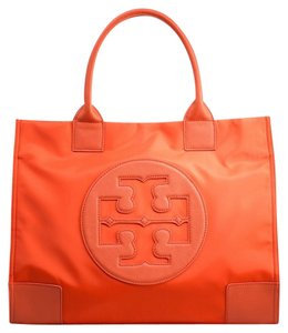Tory Burch Orange Beach Bag
