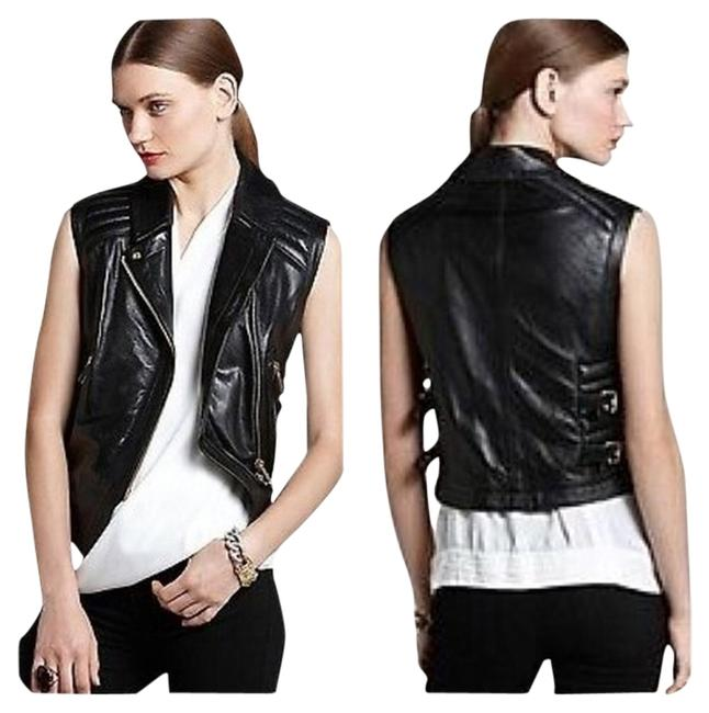 Preload https://item1.tradesy.com/images/vince-camuto-black-faux-leather-moto-small-vest-size-6-s-1261850-0-0.jpg?width=400&height=650