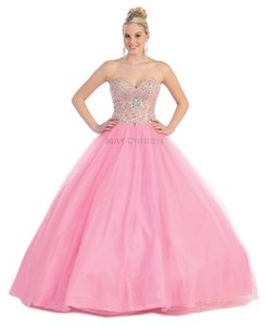 May Queen Ball Gown Prom Dress