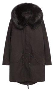Zara Parka Faux Fur Coat
