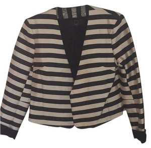 Dolce Vita Black and champagne stripe Blazer