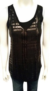 Everly Sequins Date Top Black