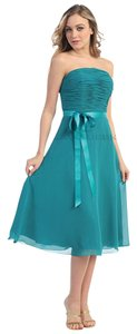 May Queen Bridesmaid Social Ocassion Knee Lenght Dress