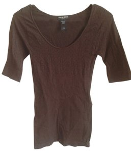 Guess T Shirt Brown