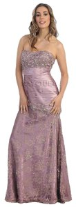 May Queen Lace Prom Dress