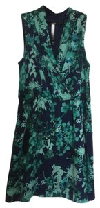 Kensie short dress Blue green on Tradesy