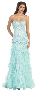 May Queen Mermaid Corset Prom Dress