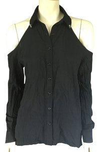 Millau Button Down Shirt Black