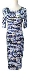 Sam & Lavi Midi Body Con Dress