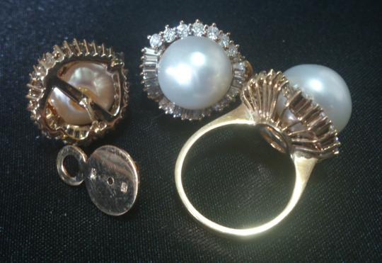 South Sea Pearls South Sea Pearls Imported Jewelry Set