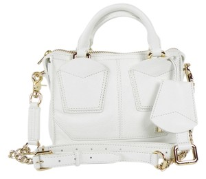Botkier Leather New Satchel in White