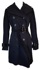 Juicy Couture Warm Quilted Designer Trench Coat