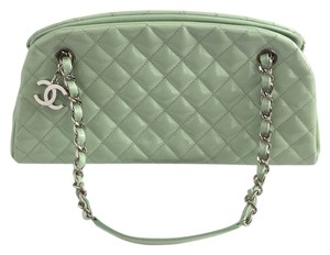Chanel Tote in Mint Green
