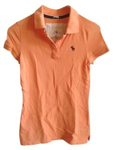 Abercrombie & Fitch T Shirt Orange