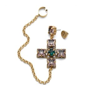 Tory Burch NEW Tory Burch Jewelled Drop Earring Cuff - Limited Edition