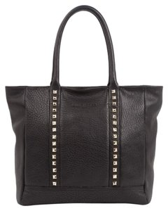 Lancaster Leather Tote in Wild Rock Black
