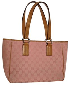 Gucci Shoulder Tote in pastel pale rose/pink