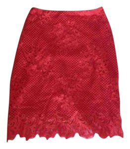 For Love & Lemons Skirt Red