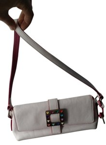 Dooney & Bourke Leather Satchel in White