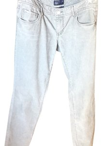 American Eagle Outfitters Straight Pants Grey