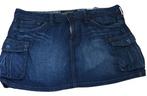 Lucky Brand Mini Skirt Blue