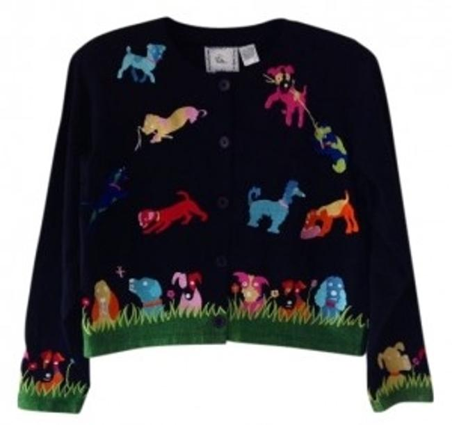 Preload https://item4.tradesy.com/images/michael-simon-black-w-multi-colored-embroidery-boxy-or-lightweight-jacket-cardigan-size-8-m-12623-0-0.jpg?width=400&height=650
