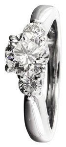 Shane Co Shane Co 1.20 Carats Total Weight Diamond Ring in 14K White Gold