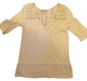 Lucky Brand T Shirt Cream