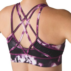 Lululemon New With Tags Lululemon Strap It Like It's Hot Bra Size 4 GPLO / BLK