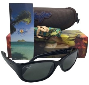 Maui Jim Polarized Maui Jim Sunglasses MJ 286-02H KUIAHA BAY Black Frame w/ Neutral Grey Lenses