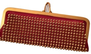 Christian Louboutin Red Clutch