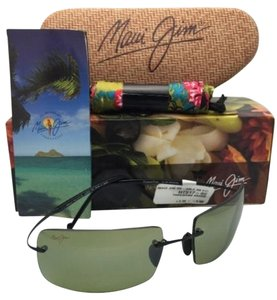 Maui Jim Polarized MAUI JIM Sunglasses Titanium THOUSAND PEAKS HT 517-02 Black Frame w/ Maui HT Lenses