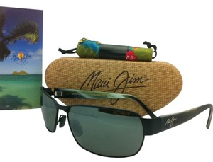 Maui Jim New MAUI JIM Sunglasses BLACK CORAL MJ 249-2M Black Frames w/ Grey Polarized Lenses