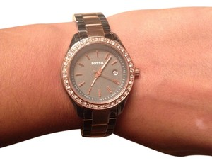 Fossil Fossil Watch Rose Gold & Stainless Steel