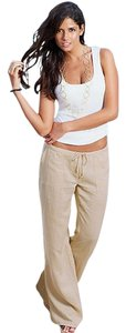 VENUS Clothing Wide Leg Pants Sand