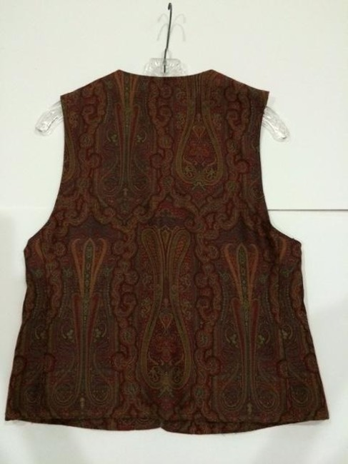 First Issue Paisley Vintage 1980's Vest