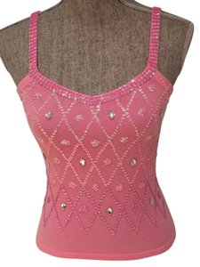 Vertigo Paris Top Pink, Sequins, Crystals
