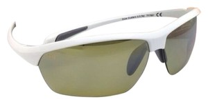 Maui Jim New MAUI JIM Sunglasses STONE CRUSHERS MJ 429-05 White Pearl Frame w/ Polarized Green lenses