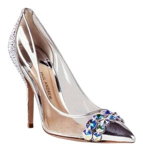 Paul Andrew Swarovski Wedding Evening Pumps