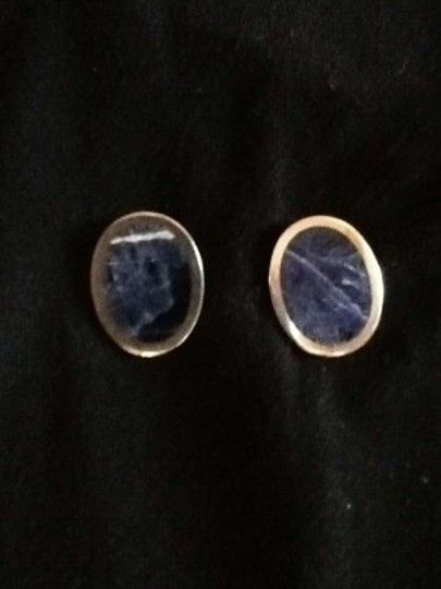 Other Authentic sterling & Lapis lazuli earrings