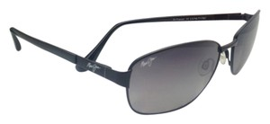 Maui Jim Polarized MAUI JIM Sunglasses DRIFTWOOD MJ 254-2M 61-17 Black Frame w/ Neutral Grey