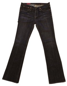AG Adriano Goldschmied The Kiss Dark Wash Straight Leg Jeans-Dark Rinse