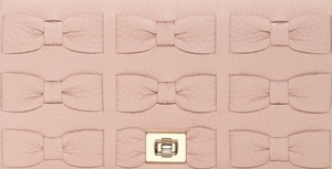 Kate Spade Clutch Party Pink Leather Cross Body Bag