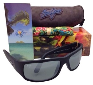 Maui Jim New MAUI JIM Sunglasses WORLD CUP MJ 266-02MR Matte Black frames with Polarized Grey Lenses
