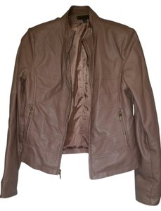 Other Taupe Leather Jacket