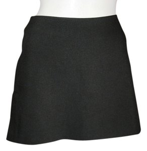 United Colors of Benetton Black A-line Mini Skirt Black, Taupe